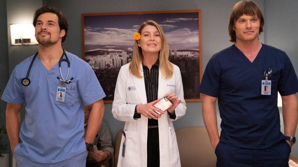 Grey's Anatomy: DeLuca or Link?