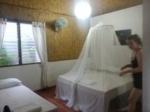 Our room at Golden Monkey Cottages