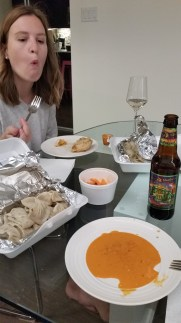 Living in West Queen West, we're a stone's throw away from the culinary varieties of Parkdale. One of our all time favourite things to pick up are Momos from Loga's Corner.