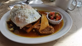 Brunch at El Almacen, an excellent South American cafe on Queen St