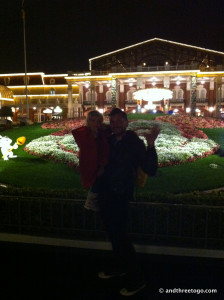 Good-Bye Tokyo Disney, from all  of us at And Three To Go!