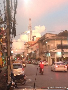 Sunset in Phuket Town. It was such perfect weather this past weekend.