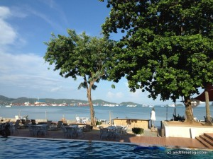 View from O2 Beach Club, Chalong, Phuket, Thailand