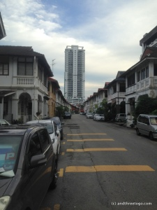 The neighborhood where we stayed. Bangkok Lane, I thought that was appropriate.