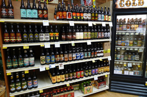 There are not shelves of craft beer like this here in Phuket.
