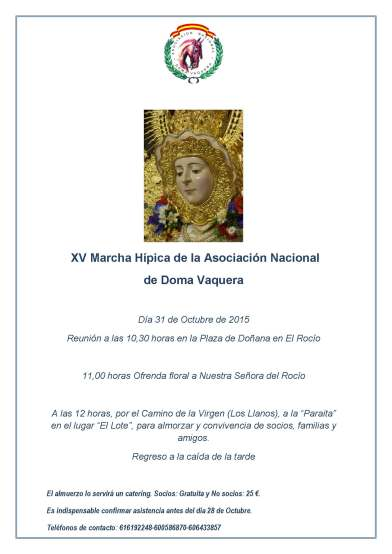 Marcha Hipica