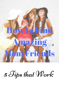 Tips to find new mom friends, at the playground, school, or even on Facebook! Also, how to know what to look for. Click through for the full post.