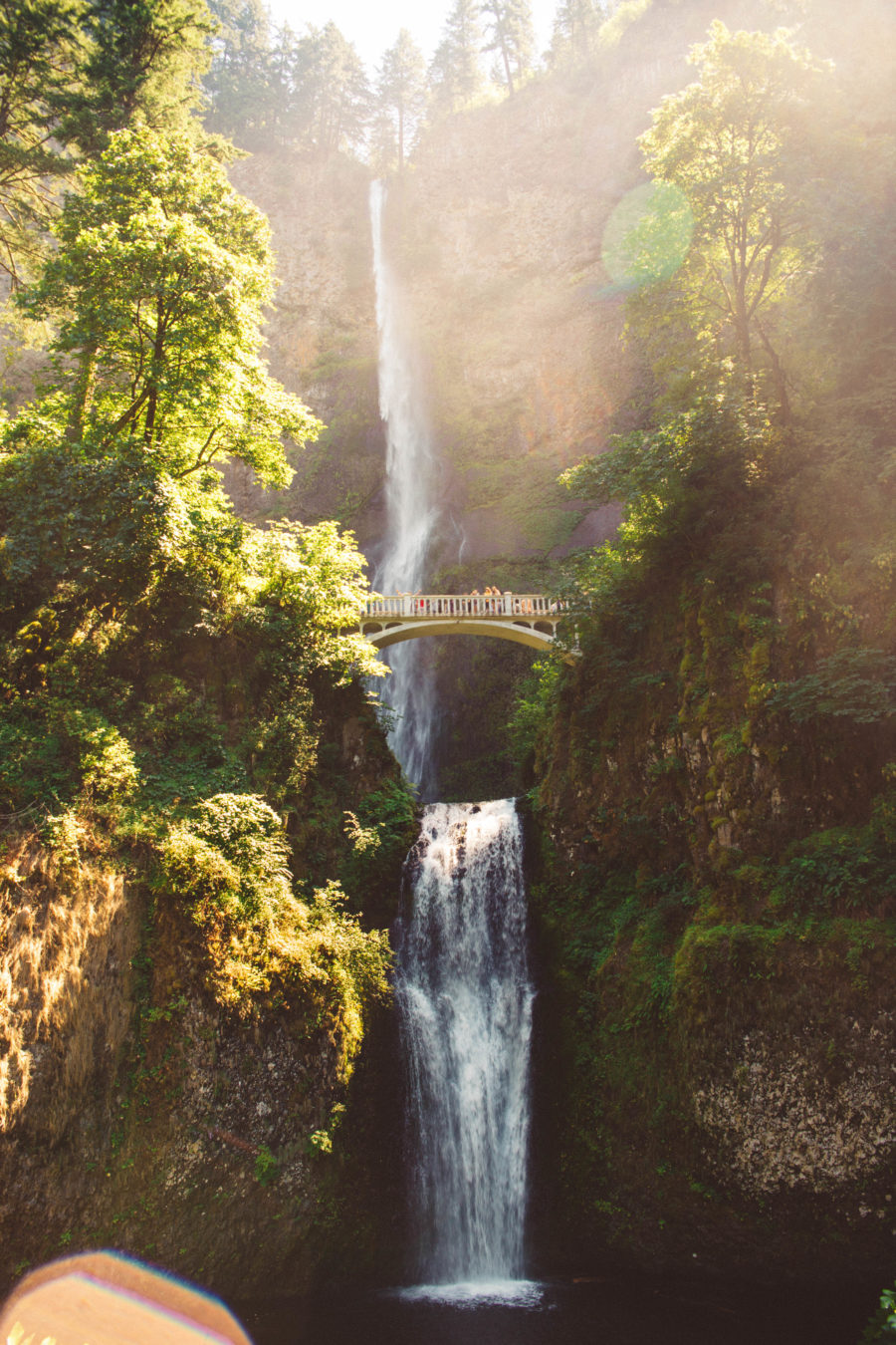 PNW Road Trip Multnomah Falls Oregon
