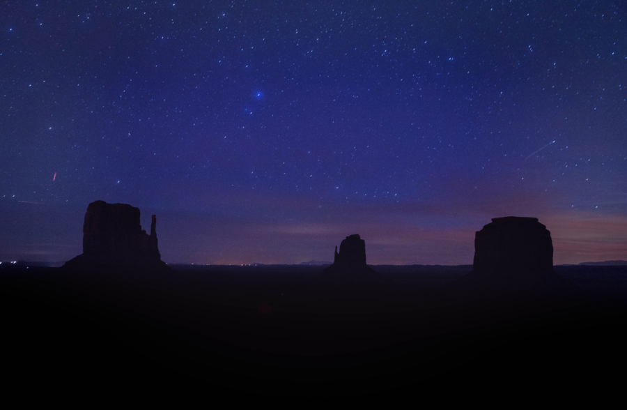 Utah Trip Monument Valley Astrophotography