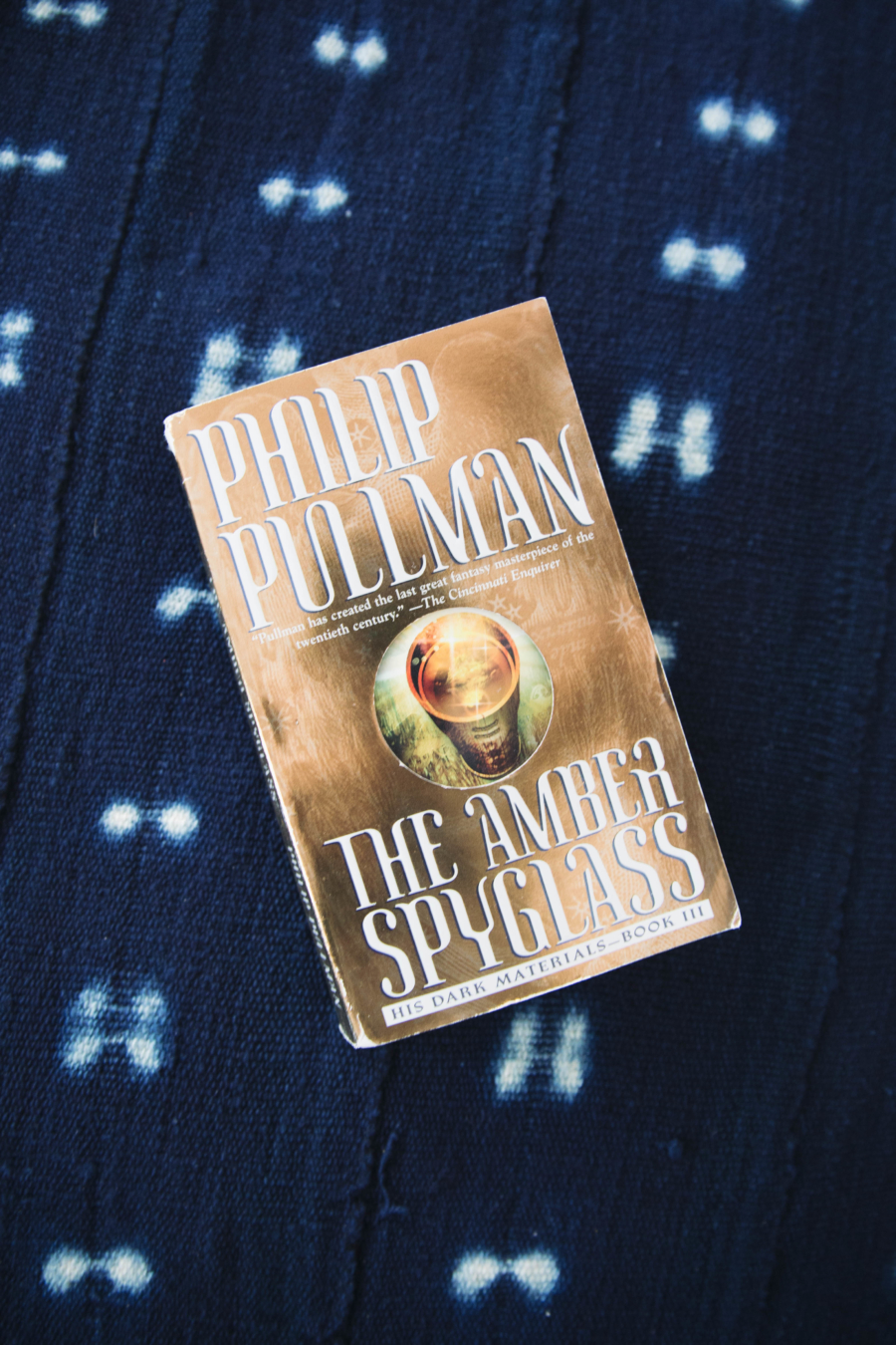 Summer 2017 Reading List The Amber Spyglass by Philip Pullman