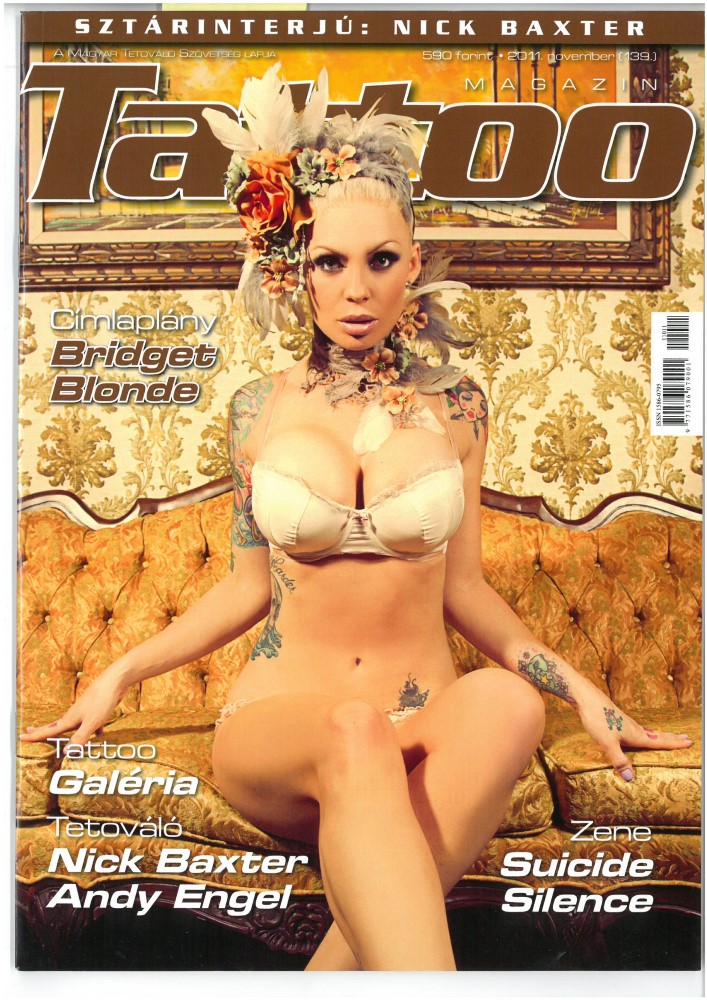 TATTOO MAGAZIN - Ausgabe 139 - November 2011