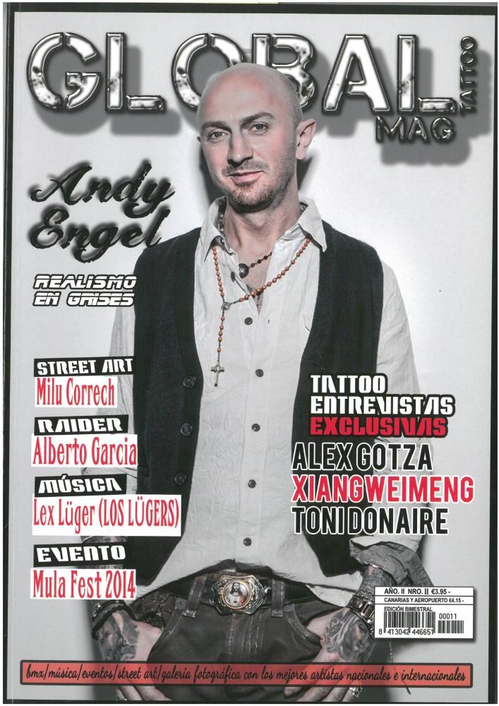 GLOBAL TATTOO MAG - Nr. 11 - Juli 2014