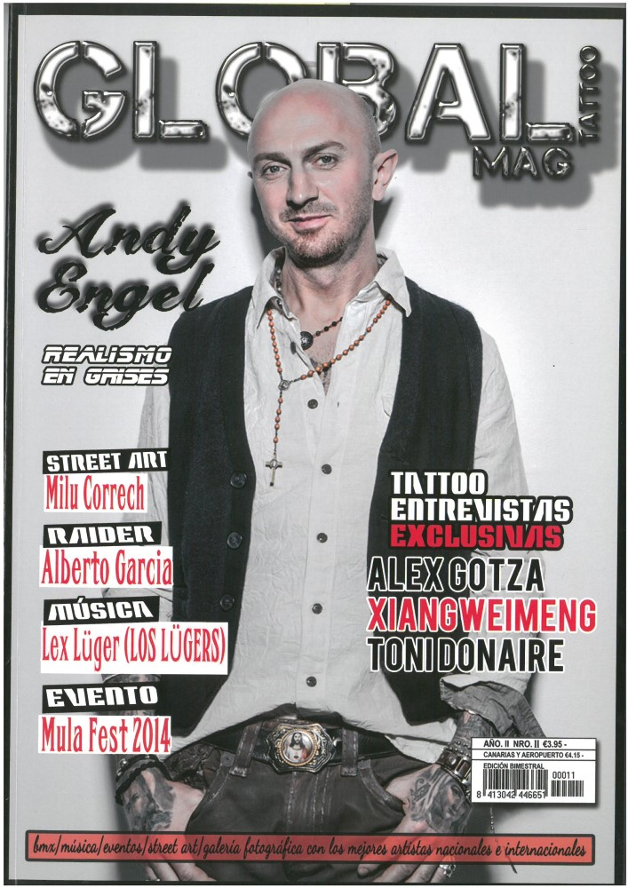 GLOBAL TATTOO MAG - Nr. 11 - Juli 2014
