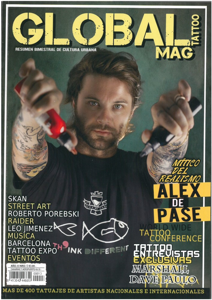 GLOBAL TATTOO MAG - Nr. 13 - November 2014