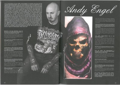 ROCKING INK Tattoo&Muziekmagazine - Ausgabe 3 - März-April 2014