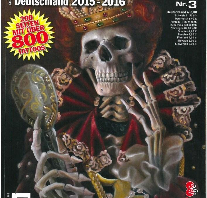 TÄTOWIERER JAHRBUCH DEUTSCHLAND 2015-16 – Ausgabe 3