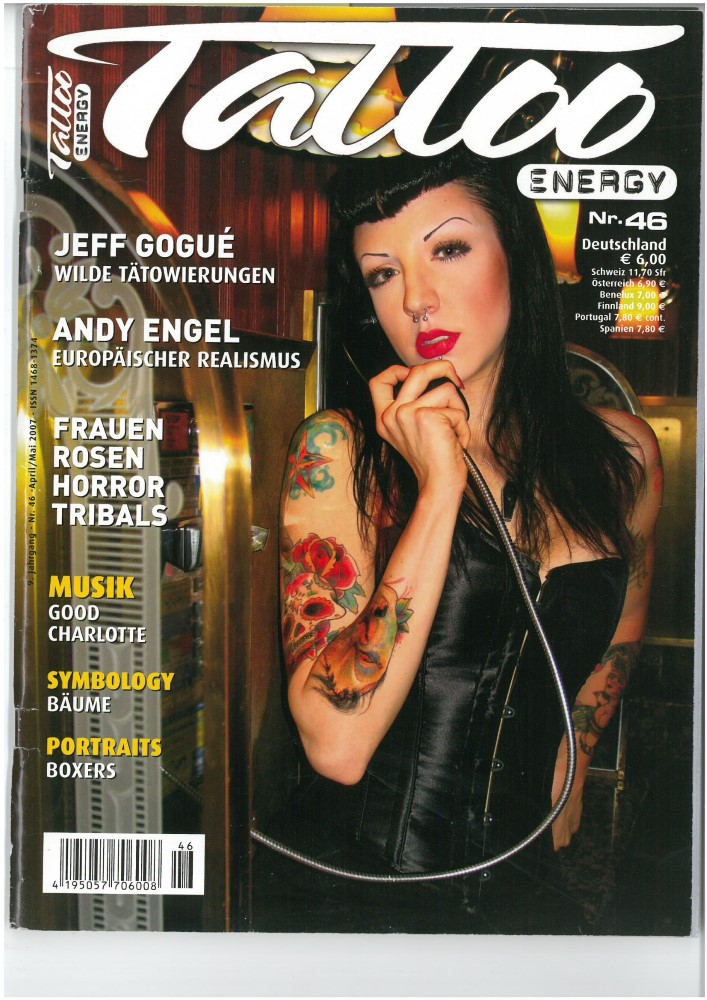TATTOO ENERGY - Ausgabe 46 - April_Mai 2007