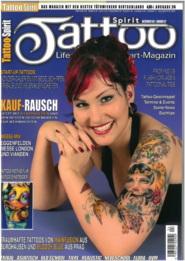 TATTOO SPIRIT - Ausgabe 24 - Dezember 2006-Januar 2007