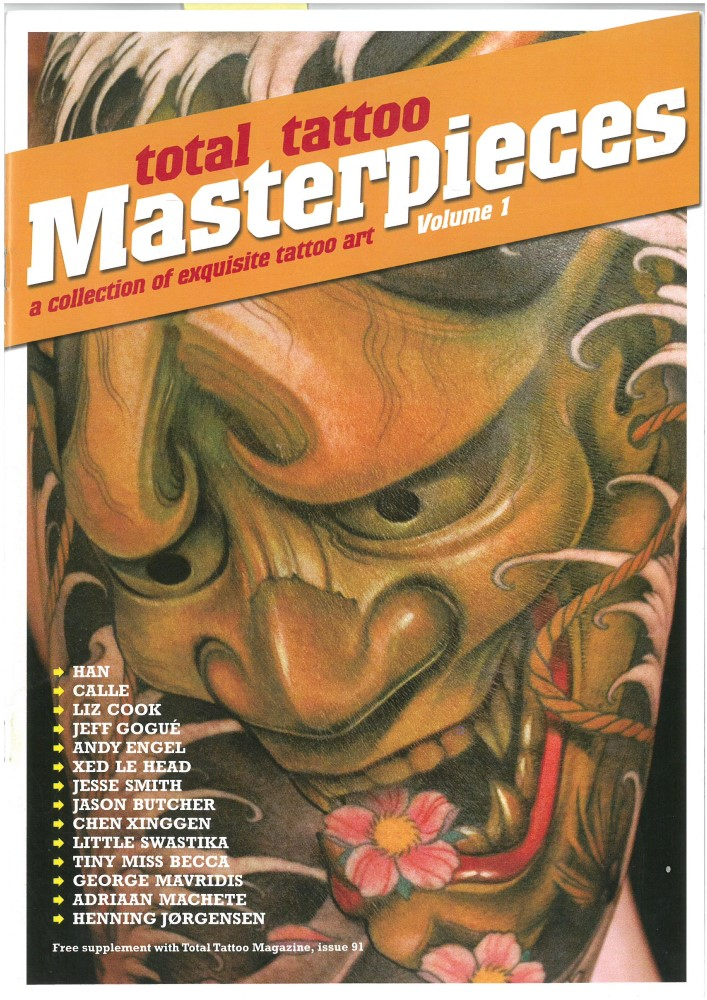TOTAL TATTOO MASTERPIECES VOL. 1 - Ausgabe 91 - Mai 2012
