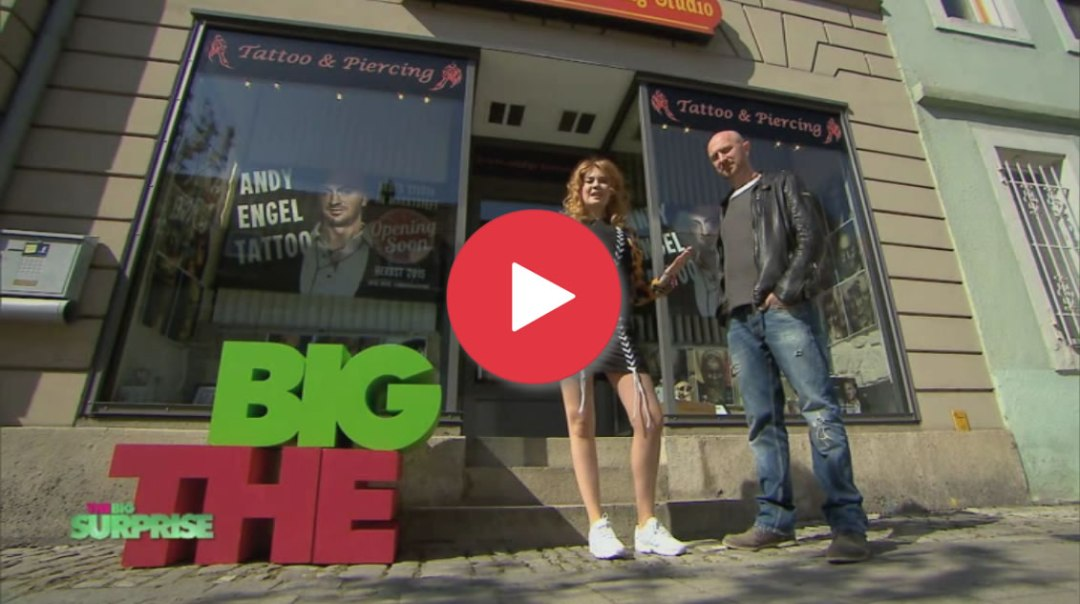 "Andy Engel und Flo bei ""THE BIG SURPRISE"" auf PRO 7"