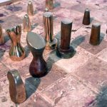 Andy Rader: Bronze Chess Set