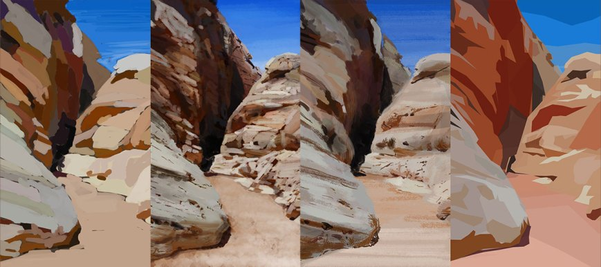 plein air valley of fire