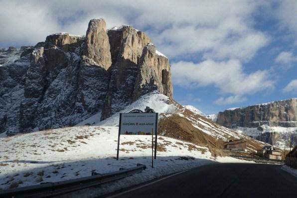 First high pass - Passo Sella 2240m