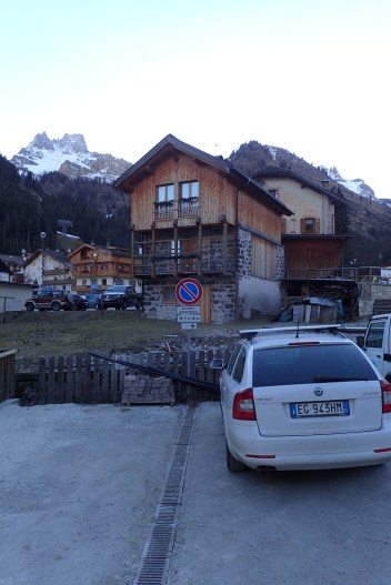 A traditional mountain hut