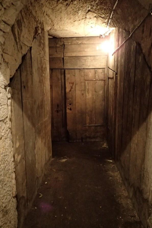The Cave door
