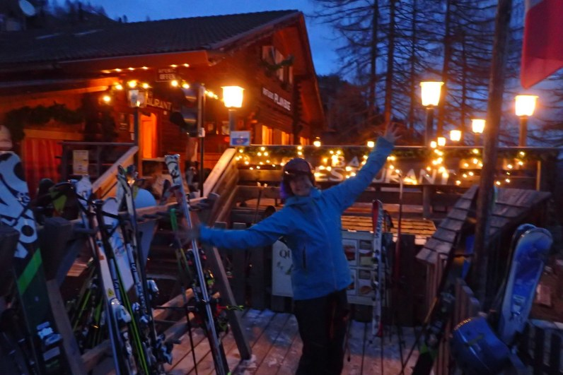 The ski home..what could possibly go wrong?