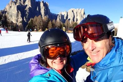 Loving the Ciampedìe ski area
