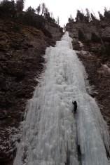 Ice-climbing in Sottoguda #3