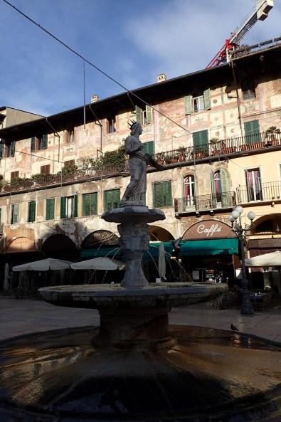 Fountain in Piazza Erbe