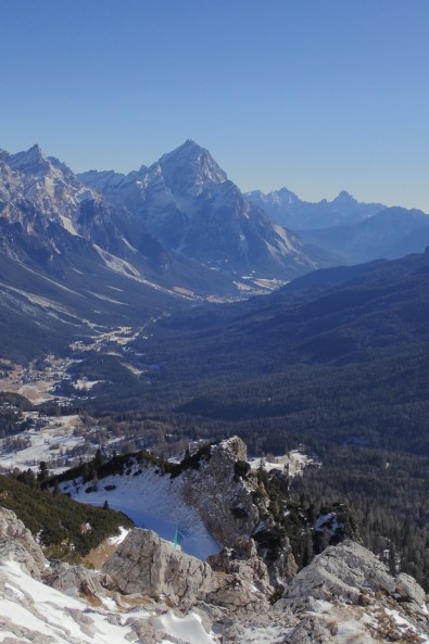 Further down the Cortina valley