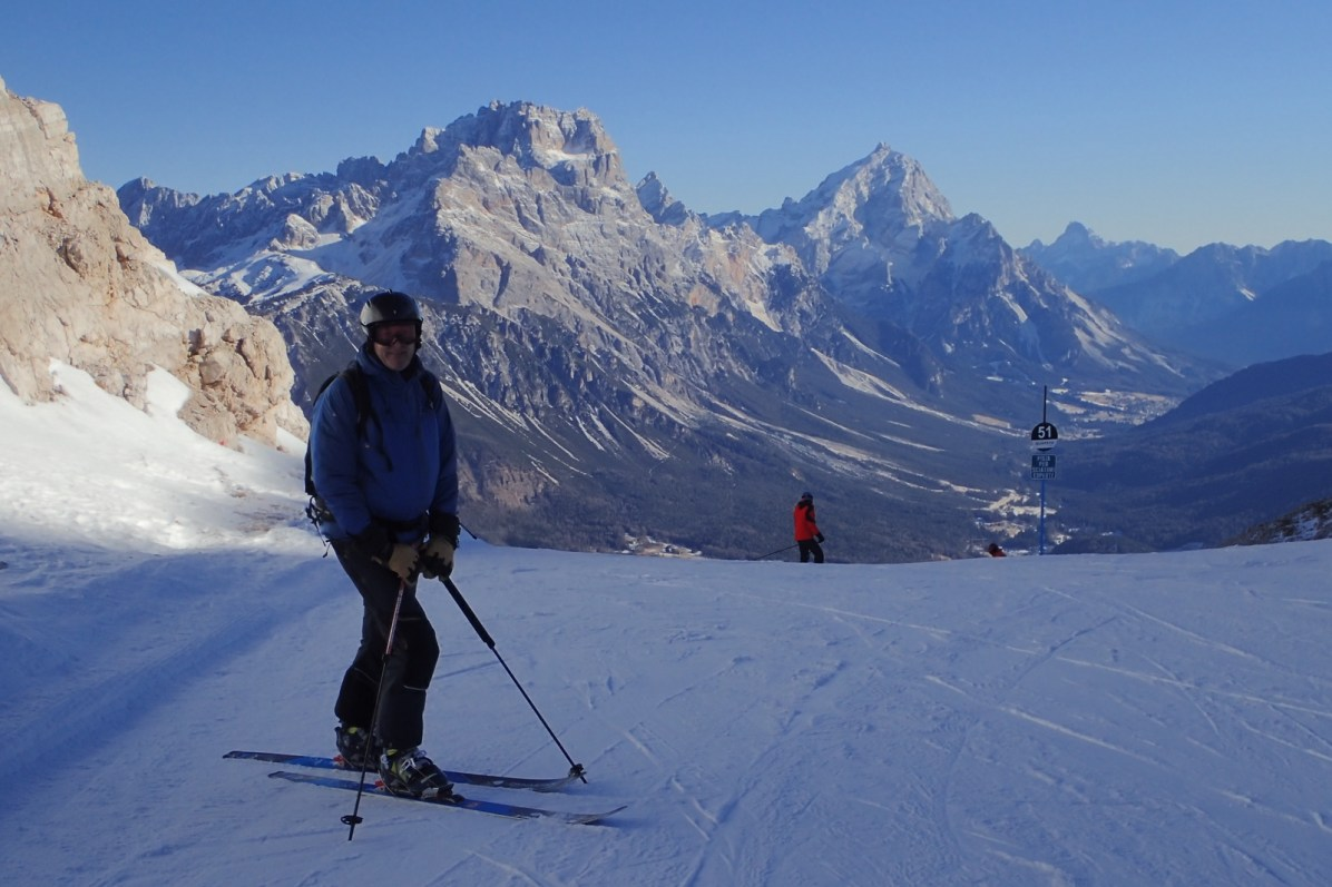 Our favourite run at Cortina