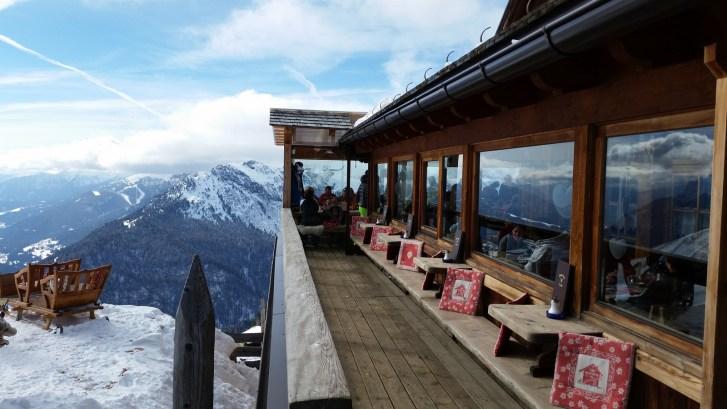 Views from Rifugio Federick Augusto