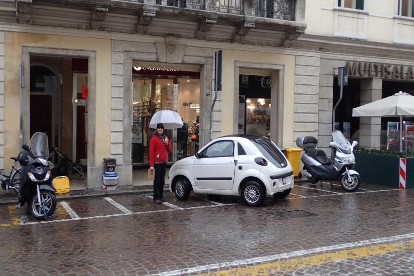 Small car in Treviso