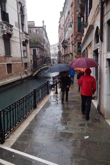 Venice in the rain#1
