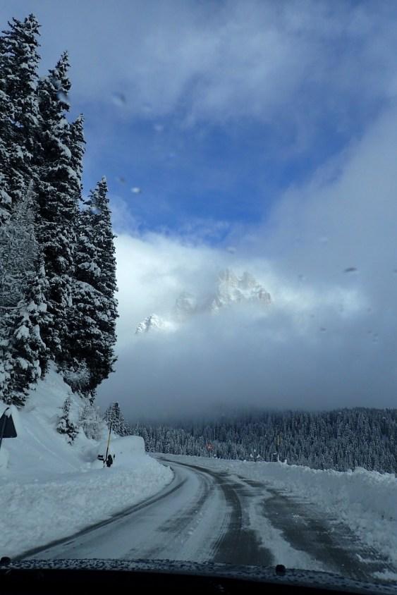 Approaching Forcella Staulanza (High Pass)