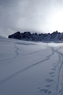 Ski Touring 8 Feb Col Toron #2