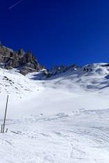 Really great off-piste terrain