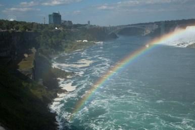 Rainbow Bridge and rainbow