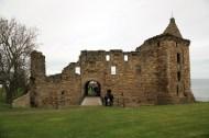 19 St Andrews Castle entrance drawbridge