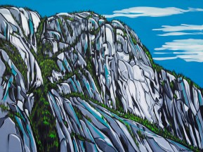 The Chief, size 24x36 in., inquire for limited edition print in original size