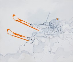 Snowmotion, size 20x24 in., original sold, canvas giclée print available in size R3a