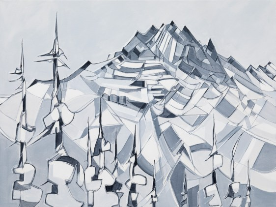 Tantalus Detail, size 30x40 in., original sold, canvas giclée print available in size R6,R7