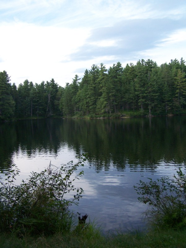 Camping Mountain Pond Aug 14 Andy