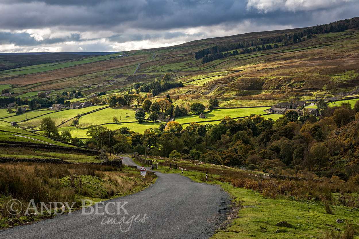 Sunshine in Arkengarthdale