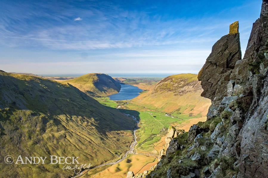 The Sphinx Rock, Great Gable