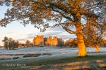 Raby Castle at sunrise